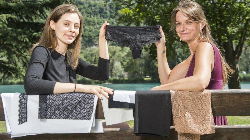 Elles s'apprêtent à lancer une culotte menstruelle valaisanne
