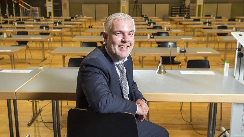Olivier Turin, un homme d'exécutif à la tête du Grand Conseil
