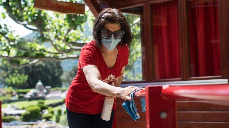 Coronavirus: «trop peu de gens portent un masque»