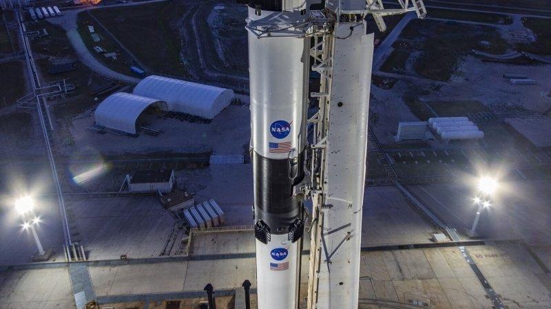 SpaceX rend aux Etats-Unis leur autonomie dans les vols habités