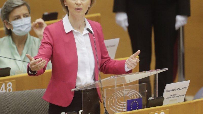 750 milliards d'euros pour l'économie de l'UE