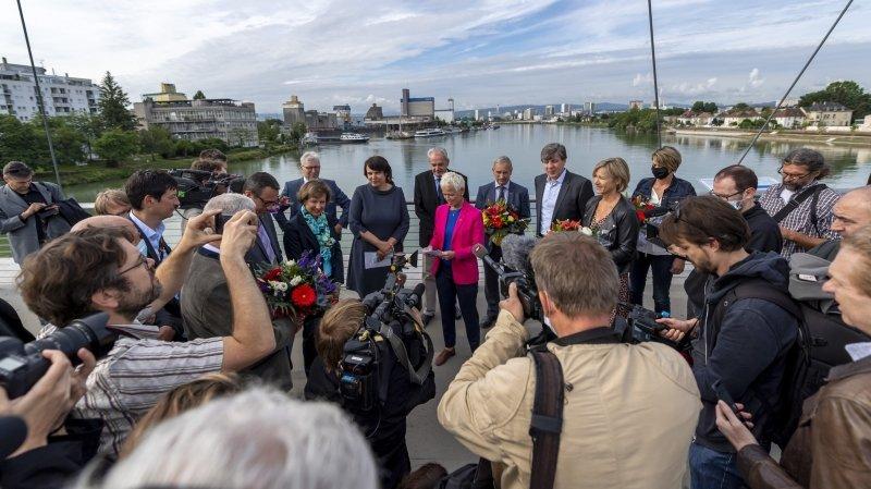 Réouverture des frontières: la Suisse fête ses retrouvailles avec ses voisins européens