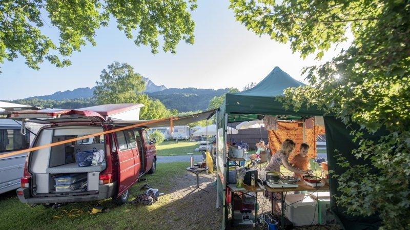Le camping a de beaux jours devant lui