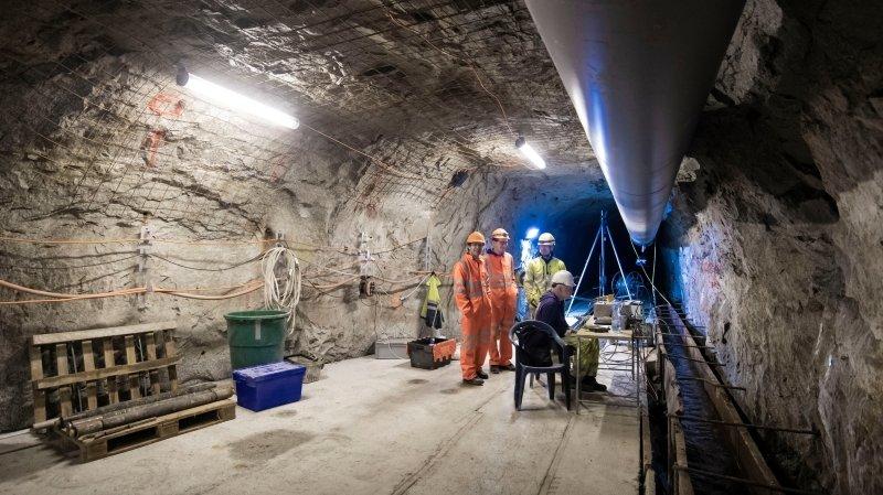 Tessin: l'EPFZ a monté un laboratoire sous terre pour étudier la géothermie