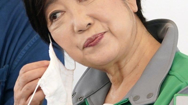 La gouverneure de Tokyo, Yuriko Koike, réélue