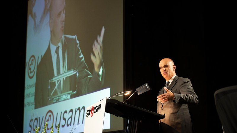 Alain Berset à Champéry pour débattre de l'avenir des retraites