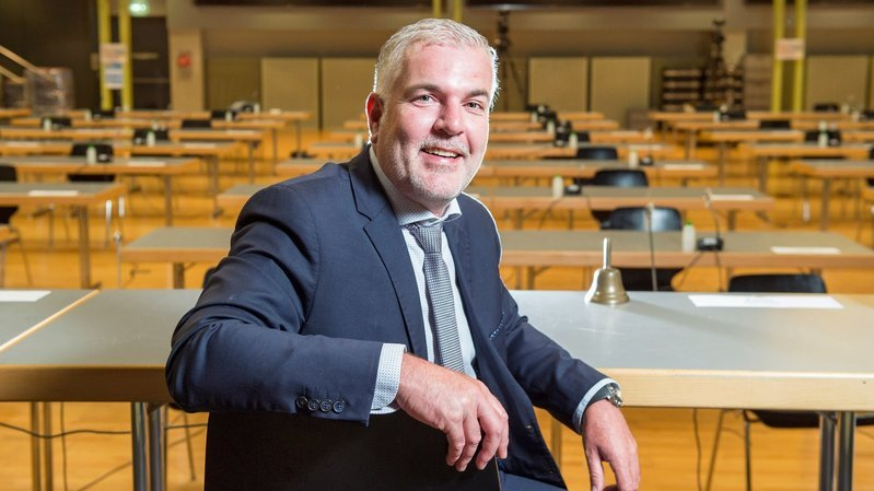 Valais: Olivier Turin accède à la présidence du Grand Conseil