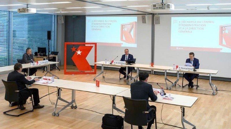 La Banque cantonale du Valais distribuera 53 millions de francs de dividendes