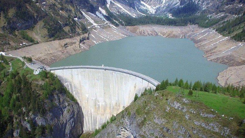 Valais: le projet Lienne-Raspille entre dans la procédure d'homologation des concessions hydrauliques