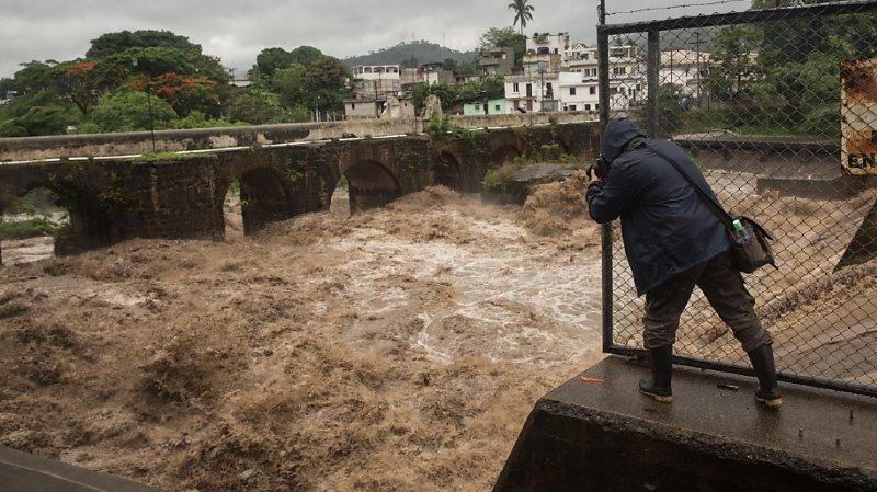 Intempéries: la tempête Amanda fait au moins 18 morts en Amérique centrale