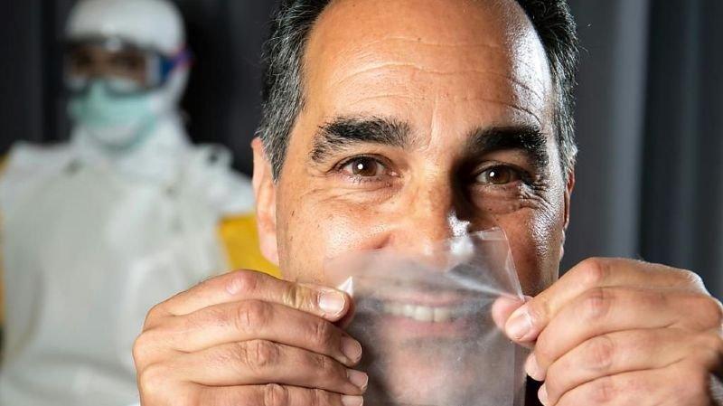Coronavirus: un masque 100% transparent a été développé en Suisse