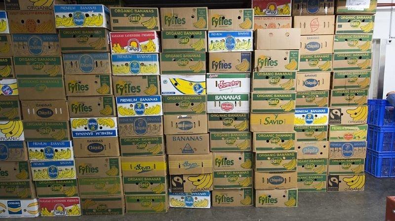 Drogues: 140 kilos de cocaïne saisis dans des cartons à bananes