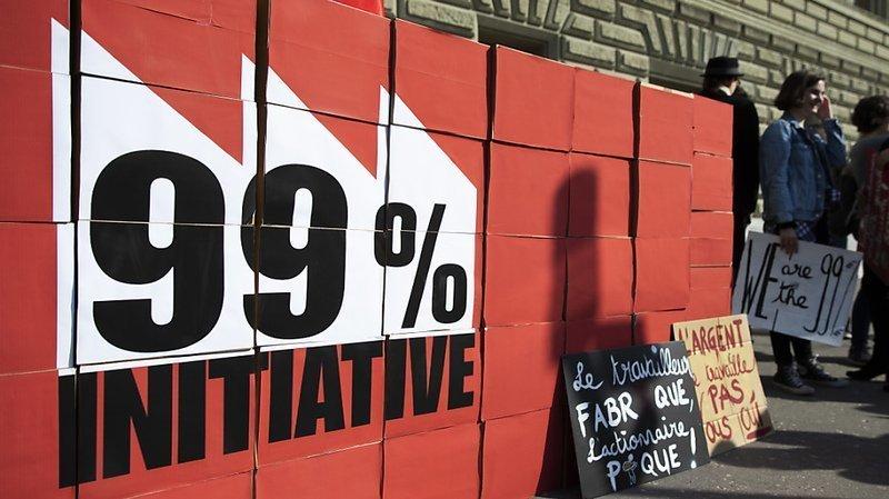 L'initiative demande que la charge fiscale portant sur les revenus du capital soit alourdie et que les recettes générées soient affectées à des politiques redistributives.