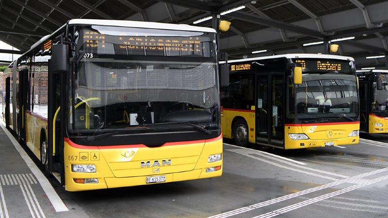 Coronavirus: les trains CFF et les bus postaux à moitié remplis