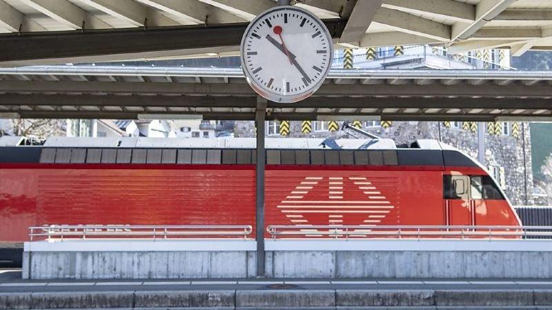 L'accident mortel s'est produit lorsqu'un train entrait en gare (photo symbolique).