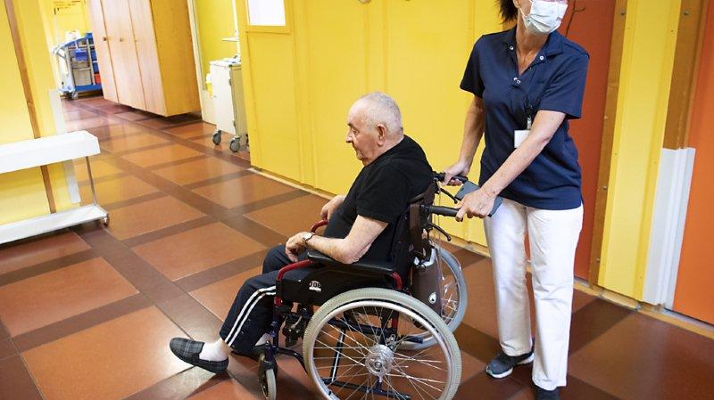La pandémie du Covid-19 a révélé la grande vulnérabilité des personnes vivant dans des établissements médico-sociaux (archives).