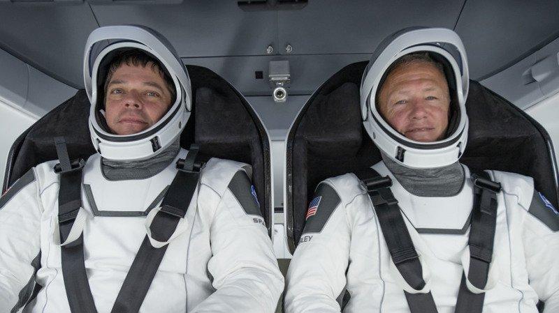 Espace: la NASA autorise le premier vol habité de SpaceX le 27 mai