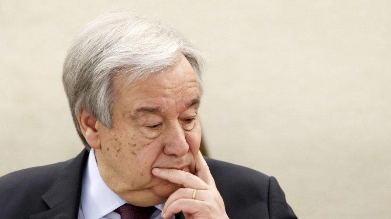 Les Etats-Unis ont formalisé leur retrait de l'OMS auprès du secrétaire général de l'ONU Antonio Guterres (archives).