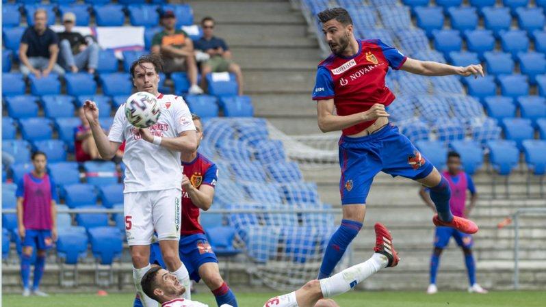 Ademi a ouvert le score à la 86e minute pour le FC Bâle.