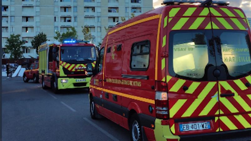 Cet incendie est survenu dans la cité des Lauriers (13e arrondissement) peu après 18h00.