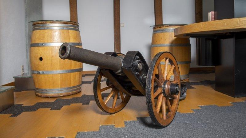 Une commune, une histoire: à Chamoson, des canons narguaient les adversaires politiques