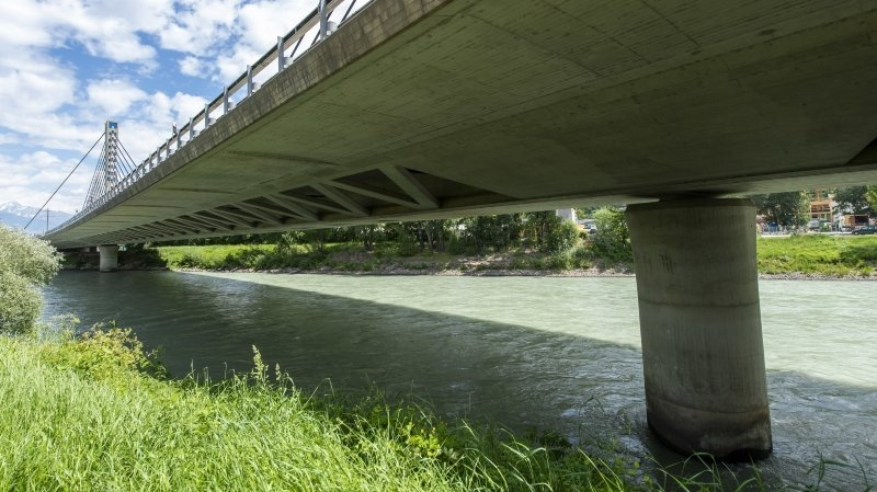 Ouvrages d'art en Valais: le monumental pont de Chandoline