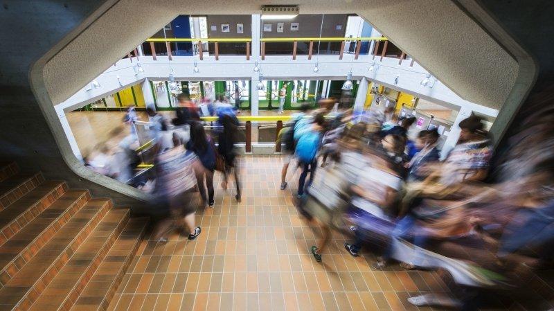 Les collèges valaisans reprendront vie le 8 juin avec le retour des étudiants en classe.