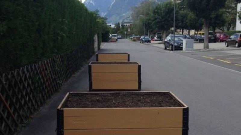 Les bacs sont disponibles pour les habitants, à la rue des Primevères.