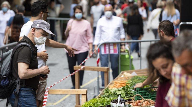 Coronavirus: une majorité est contre un allègement des mesures de protection