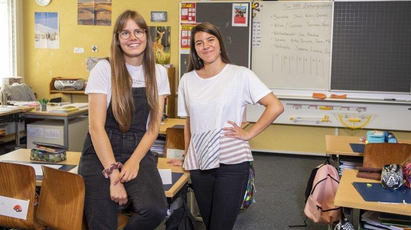 Deux étudiantes du Valais romand ont fait la classe à Zermatt durant un an