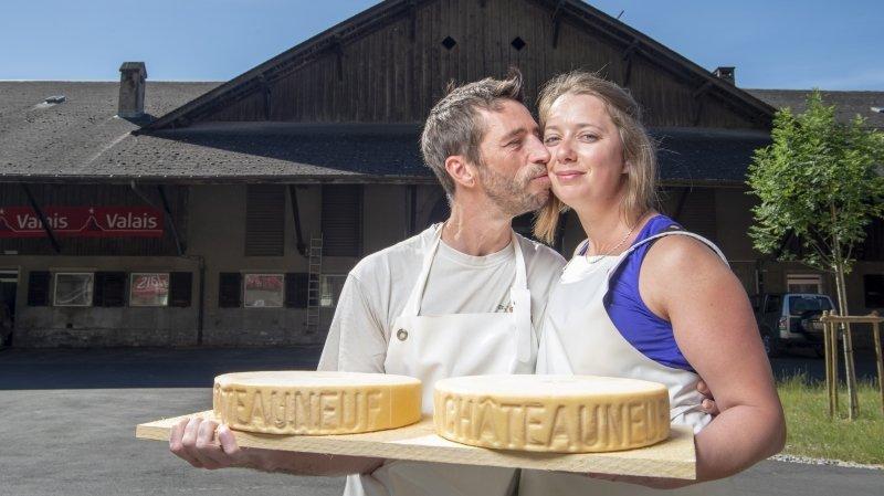 Tout un fromage: la série qui suit, de l'école à l'alpage, Martina et Frédéric, amoureux de pâtes mi-dures