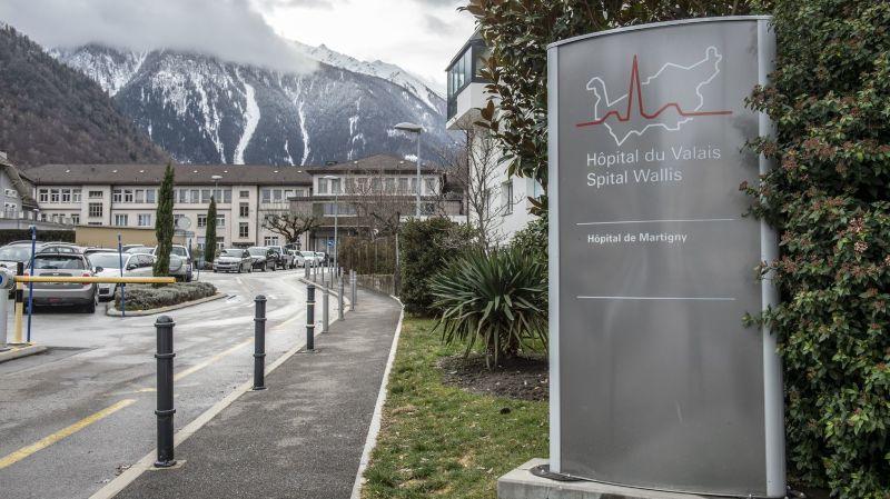 Quatre soignants de l'hôpital de Martigny testés positifs au coronavirus. Le foyer est sous contrôle
