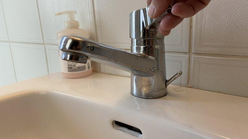 Des problèmes d'eau potable suite à la rupture d'une conduite aux Collons.