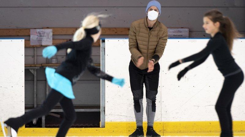 À Champéry, Stéphane Lambiel et ses élèves ont enfin brisé la glace