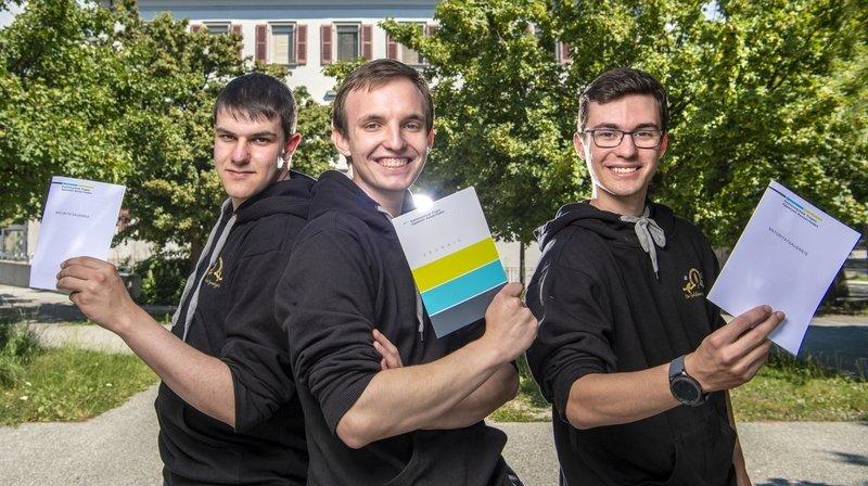 Pour la première fois, trois Valaisans entament leur collège à la Planta et le terminent à Trogen