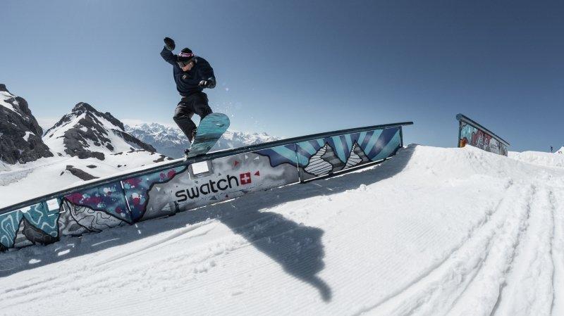 Le ski est de retour pour neuf jours sur le glacier de la Plaine Morte.