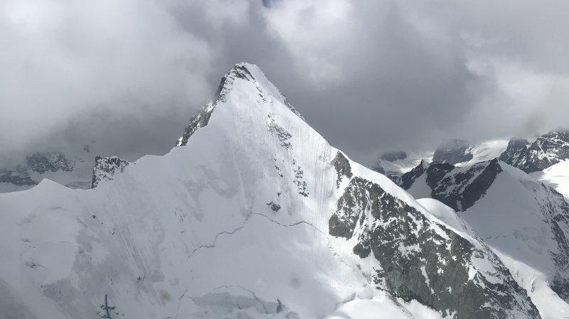 L'ascension de la face nord de l'Obergabelhorn sur les hauts de Zinal a été fatale à ce jeune alpiniste.