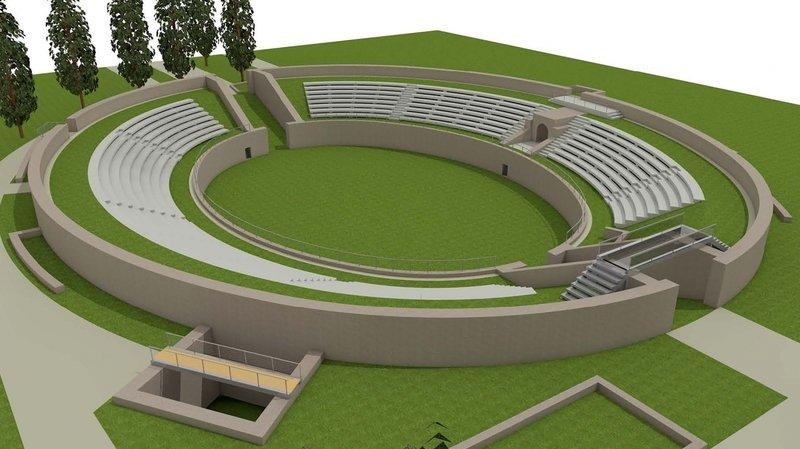 Un nouveau visage pour l'amphithéâtre de Martigny