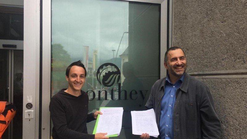 Monthey/Massongex: 800 signatures contre les déchets de type D
