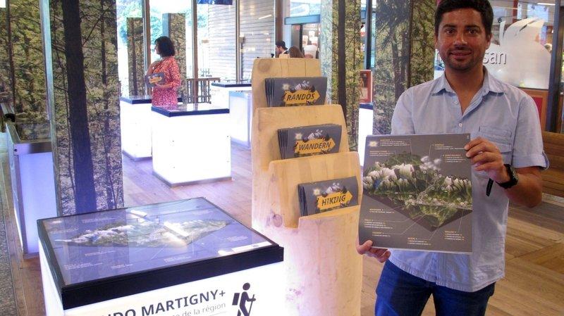 Martigny Région sort une brochure randos interactive