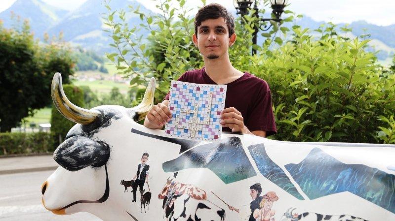 Scrabble: le jeune Martignerain Roberto Seixas sacré champion suisse 2020