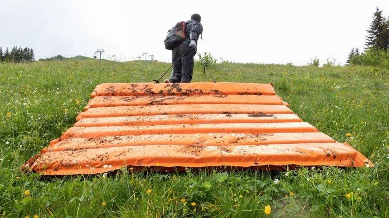 Les bénévoles de Summit Foundation ont ramassé 207kg de déchets aux Crosets