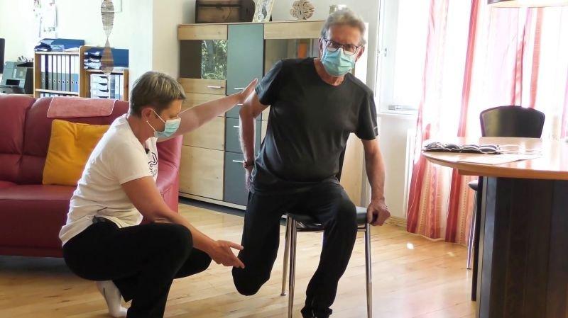 Les physiothérapeutes n'étaient pas préparés à travailler durant le confinement.