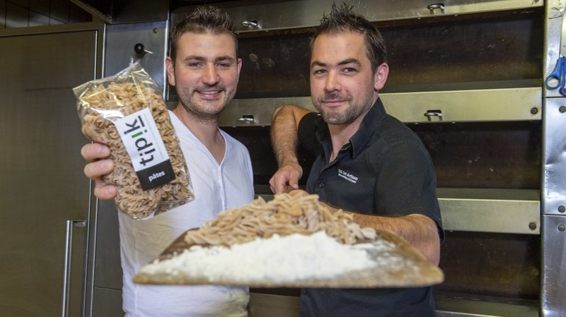 Deux Saviésans lancent les pâtes entièrement valaisannes