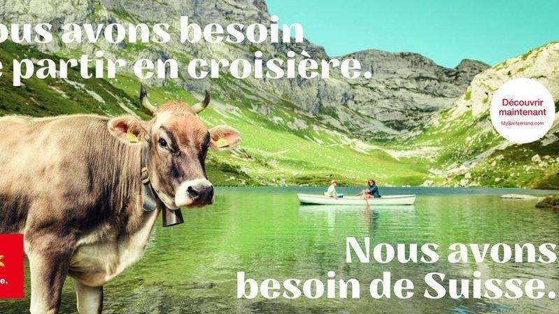 Suisse Tourisme lance une campagne sans précédent
