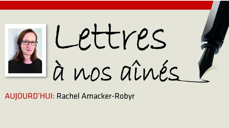 Coronavirus: la lettre aux aînés de Rachel Amacker-Robyr