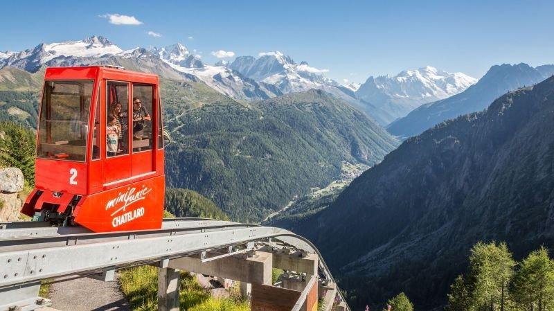 Vertic'Alp Emosson sur les rails dès samedi pour sa 6e saison d'exploitation