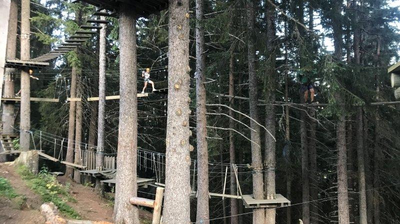 Champoussin: le parc aventure Point Sud fait le bonheur des familles depuis vingt ans