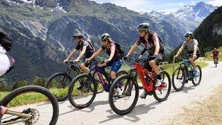 Verbier décline son offre e-bike tous les week-ends de l'été