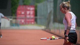 Timea Bacsinszky retrouve les courts de tennis